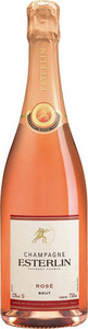 Champagne Esterlin Rose Bottle