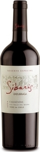 Undurraga Sibaris Carmenere Reserva 2012, Colchagua Valley Bottle