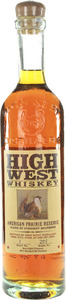 High West American Prairie Reserve Whiskey Bottle