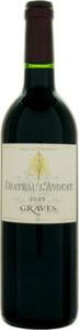 Château L'avocat 2010, Ac Graves Bottle