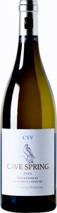 Cave Spring Csv Estate Bottled Chardonnay 2010, VQA Beamsville Bench, Niagara Peninsula Bottle