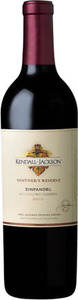 Kendall Jackson Vintner's Reserve Zinfandel 2011, Mendocino County Bottle