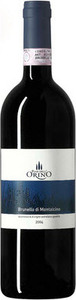 Brunello Di Montalcino   Pian Dell'orino 2009 Bottle