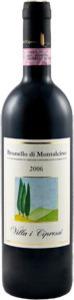 Villa I Cipressi Brunello Di Montalcino 2009 Bottle