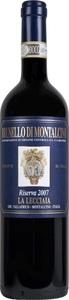 La Lecciaia Brunello Di Montalcino Riserva 2009 Bottle