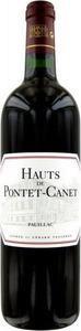 Les Hauts De Pontet Canet 2007, Ac Pauillac, 2nd Wine Of Château Pontet Canet Bottle