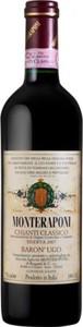 Monteraponi Baron' Ugo Chianti Classico Riserva 2010 Bottle