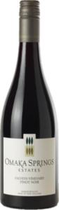 Omaka Springs Falveys Vineyard Pinot Noir 2010 Bottle
