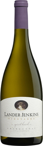 Lander Jenkins Spirit Hawk Chardonnay 2011, California Bottle