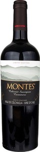 Montes Limited Selection Carménere 2011, Apalta Vineyard, Colchagua Valley Bottle