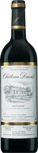 Château David Médoc 2010 Bottle