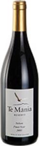Te Mania Pinot Noir 2011 Bottle