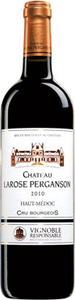 Château Larose Perganson Cru Bourgeois 2010 Bottle