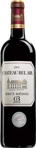 Château Bel Air Cru Bourgeois 2009 Bottle