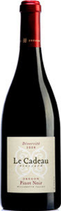 Le Cadeau Vineyard Diversité Pinot Noir 2010, Willamette Valley Bottle