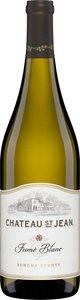 Château St. Jean Fumé Blanc 2011, Sonoma County Bottle