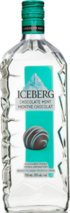 Iceberg Chocolate Mint Flavoured Vodka Bottle