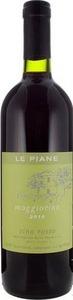 Le Piane Maggiorina Vino Rosso 2012, Doc Colline Novaresi Bottle
