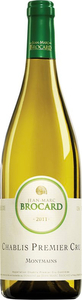 Jean Marc Brocard Montmains Chablis 1er Cru 2011, Ac Bottle