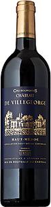 Château De Villegeorge 2008 Bottle