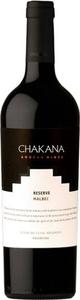 Chakana Reserve Malbec 2012 Bottle