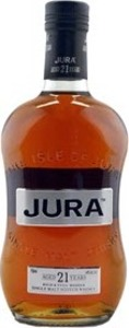 Jura 21 Years Old Single Malt Scotch Whisky, Isle Of Jura Distillery Bottle