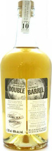 Double Barrel Talisker & Craigellachie Blended Malt Scotch Whisky, Unchillfiltered (700ml) Bottle