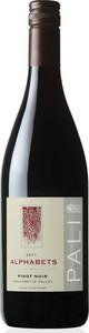 Pali Alphabets Pinot Noir 2011, Willamette Valley Bottle