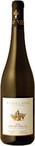 Vineland Estates Dry Riesling 2009, Niagara Peninsula Bottle