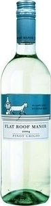 Flat Roof Manor Pinot Grigio 2013 Bottle