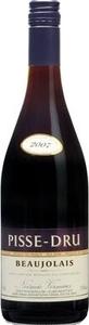 Pisse Dru Beaujolais 2010 Bottle