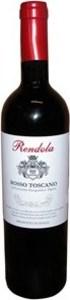 Rendola Rosso Toscano 2004, Igt Bottle