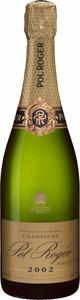 Pol Roger Extra Cuvée De Réserve Blanc De Blancs Vintage Brut Champagne 2002 Bottle