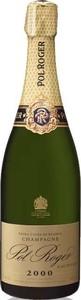 Pol Roger Extra Cuvée De Réserve Blanc De Blancs Vintage Brut Champagne 2000 Bottle