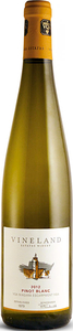 Vineland Pinot Blanc 2012, VQA Niagara Escarpment Bottle