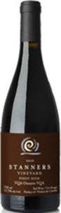 Stanners Vineyard Pinot Noir 2011, VQA Prince Edward County Bottle