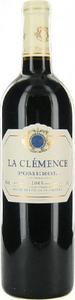 Château La Clémence 2010, Pomerol Bottle