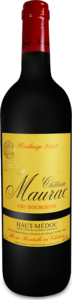 Château Maurac 2010, Ac Haut Médoc Bottle