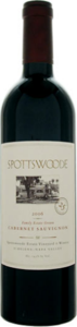 Spottswoode Estate Cabernet Sauvignon 2010, Napa Valley Bottle