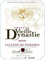 Château Vieille Dynastie 2011, Ac Lalande De Pomerol Bottle