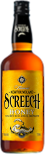 Newfoundland Screech Honey Rum Bottle