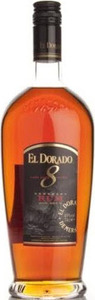 El Dorado 8 Ans, Guyana Bottle