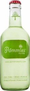 Pommies Dry Cider, 4x355 Ml Bottle Bottle