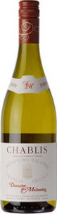Domaine Des Malandes 2012, Chablis Bottle