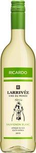 Ricardo Larrivée Vins Du Monde Sauvignon Blanc 2013 Bottle