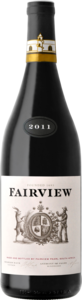 Fairview Petite Sirah 2011, Wo Paarl Bottle