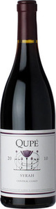Qupé Syrah 2011, Central Coast Bottle