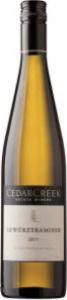 CedarCreek Gewurztraminer 2010, BC VQA Okanagan Valley Bottle