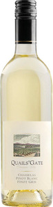 Quails' Gate Chasselas Pinot Blanc Pinot Gris 2011, Okanagan Valley Bottle