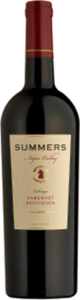 Summers Napa Valley Cabernet Sauvignon 2010, Calistoga, Napa Valley Bottle